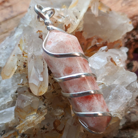 Sunstone Point Pendant~JSPWRSP2