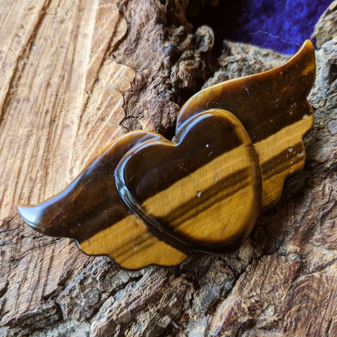 Tiger Eye Winged Heart~CRTEWHT2