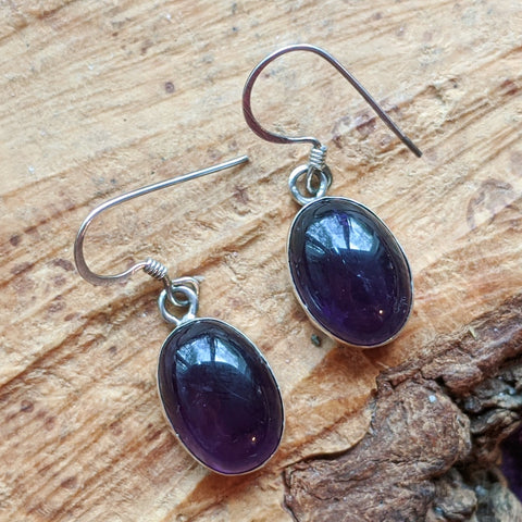 Amethyst Earrings~JSSAME04