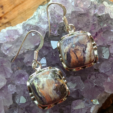 Tiffany Stone Earrings~JSSTSEA2