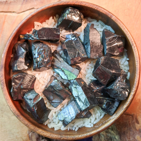 Elite Noble Shungite Chunks~CRENSCSM