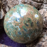 Rainforest Rhyolite Sphere~CRRNRHS1