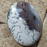 Merlinite Dendritic Opal Cabochon~JCABMER03