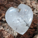 Golden Healer Dendritic Quartz Heartn~CRGHDQH1