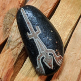 "Nazca Stone-Peru-""The Lizard""~CRNSLIZ1"