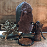 Amethyst Geode on Metal Stand~CRAMMS11