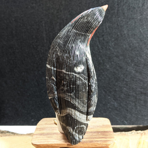 Onyx Penguin Carving~CROPEN04
