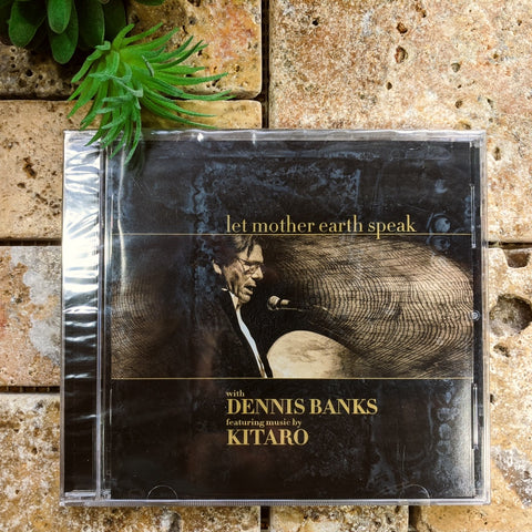 Let Mother Earth Speak CD~Dennis Banks and Kitaro