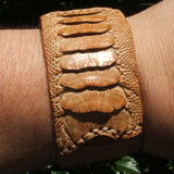 Ostrich Leather Bracelet JBRAOST