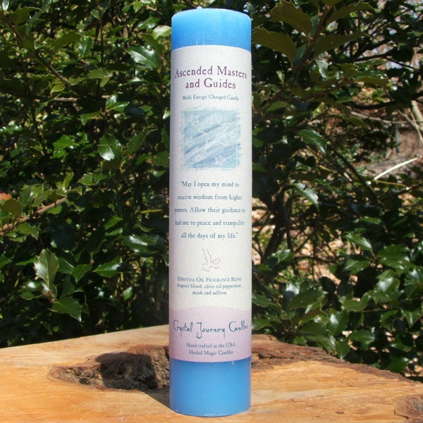 Ascended Masters Reiki Candle