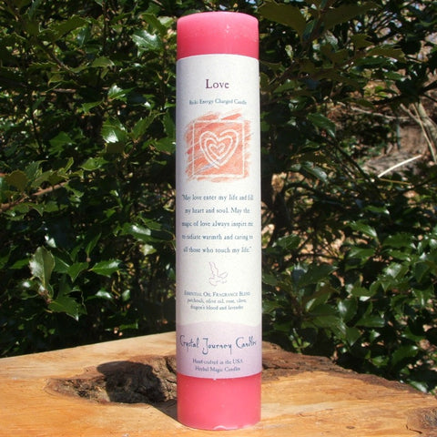 Love Reiki Candle