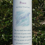 Peace Reiki Candle