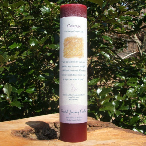 Courage Reiki Candle