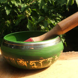 Green Tara Singing Bowl / Meditation Bowl 6 inch SHGTMBLG