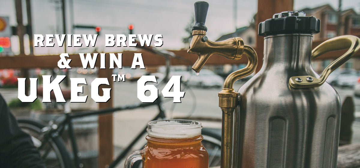 Review Brews and Win a uKeg 64