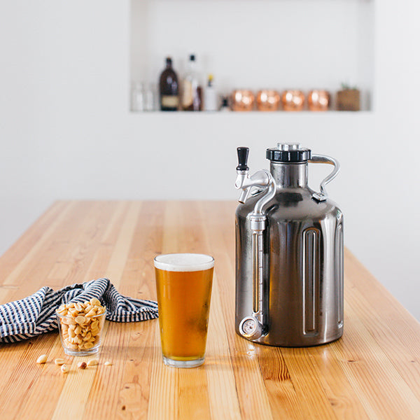 uKeg Growler in the Kitchen