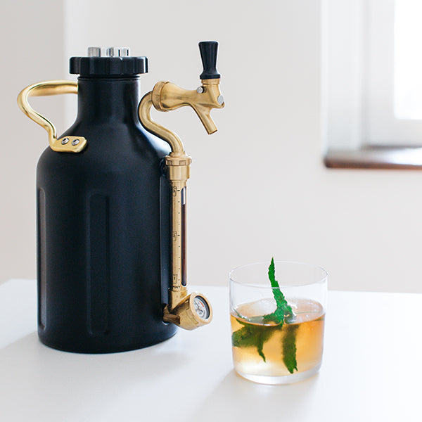 Matte Black Growler is great for cocktails