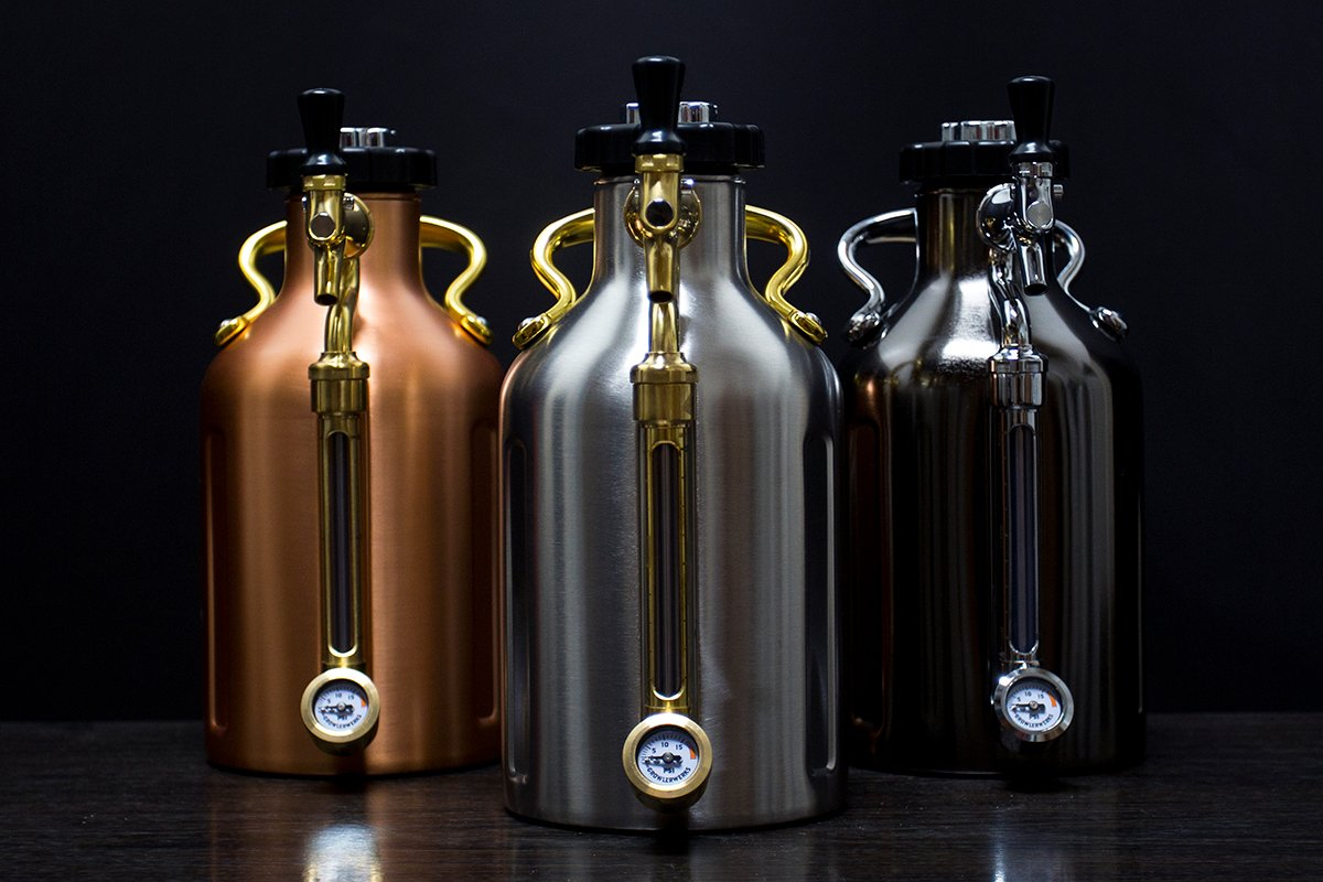 uKeg Pressurized Growlers