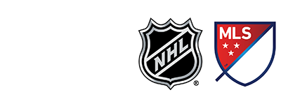Official Partner of NHL and MLS