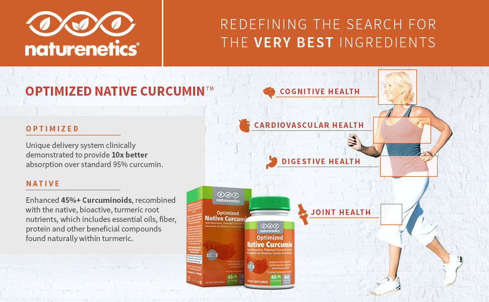 Naturenetics Optimized Native Curcumin Benefits Best Ingredients