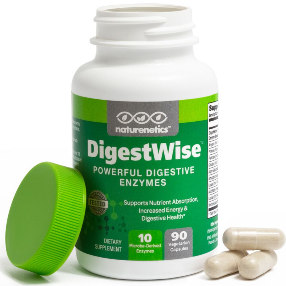 DigestWise – Powerful Digestive Enzymes