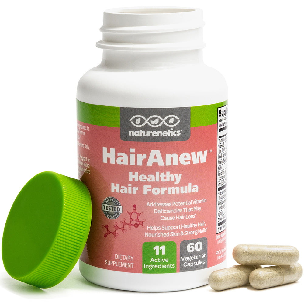 HairAnew – Healthy Hair Formula with Biotin-W