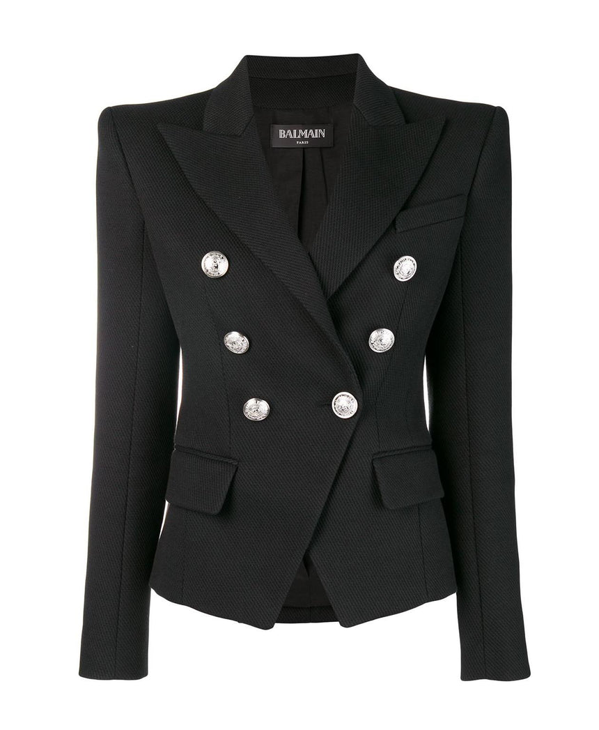 Balmain Double-Breasted Blazer (Pre-Loved)