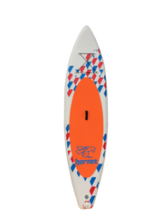 "10'6"" Inflatable SUP Board Package (Blue/Orange)"