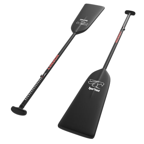 G1 (ALLEN KEY) - BLACK MATTE ADJUSTABLE DRAGON BOAT HORNET PADDLE|G1 (CLEF ALLEN) - PAGAIE AJUSTABLE DE BATEAU DRAGON HORNET NOIRE MAT