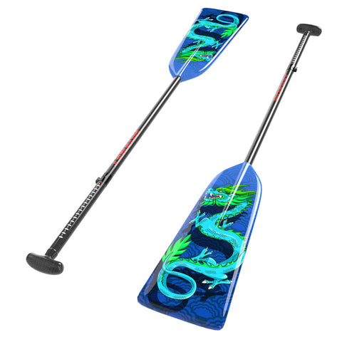 "BLUE DRAGON G3 ADJUSTABLE PADDLE|PAGAIE AJUSTABLE HORNET ""BLUE DRAGON"" G3"