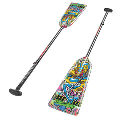 "G8 (ALLEN KEY) GRAFFITI DRAGON HORNET ADJUSTABLE PADDLE|G8 (CLEF ALLEN) PAGAIE AJUSTABLE HORNET ""DRAGON GRAFFITI"""