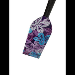 K12 RAGE PURPLE FLOWERS DESIGN PADDLE|PAGAIE K12 RAGE DESIGN FLEURS MAUVES