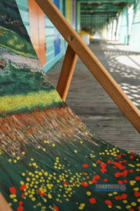 Santa Fe Deckchair in the July edition of Country Homes & Interiors Magazine Smart Deco Deckchairs by British artist Jacqueline Hammond www.smartdeco-style.com
