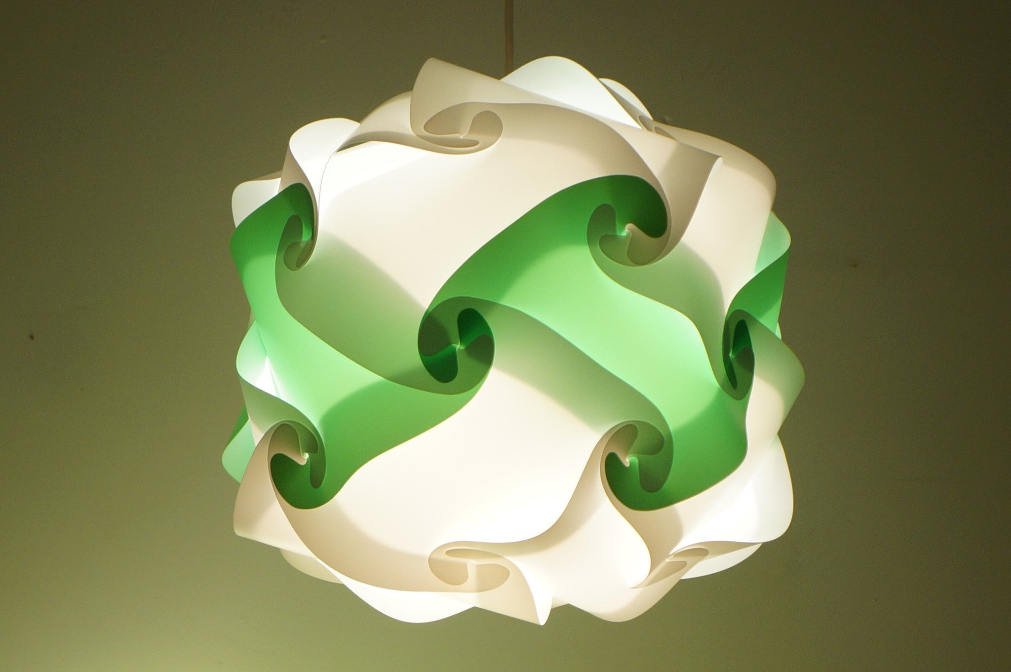 Smarty Lamps Lisbet Green Light Shade  Smart Deco Homeware Lighting and Art by Jacqueline hammond