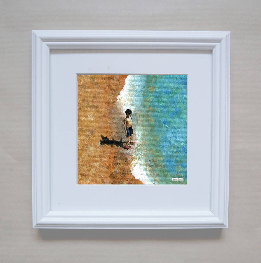 Print Of Painting Little Boy By Jacqueline Hammond  Smart Deco Homeware Lighting and Art by Jacqueline hammond