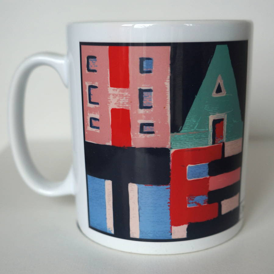 Love Mug  Smart Deco Homeware Lighting and Art by Jacqueline hammond
