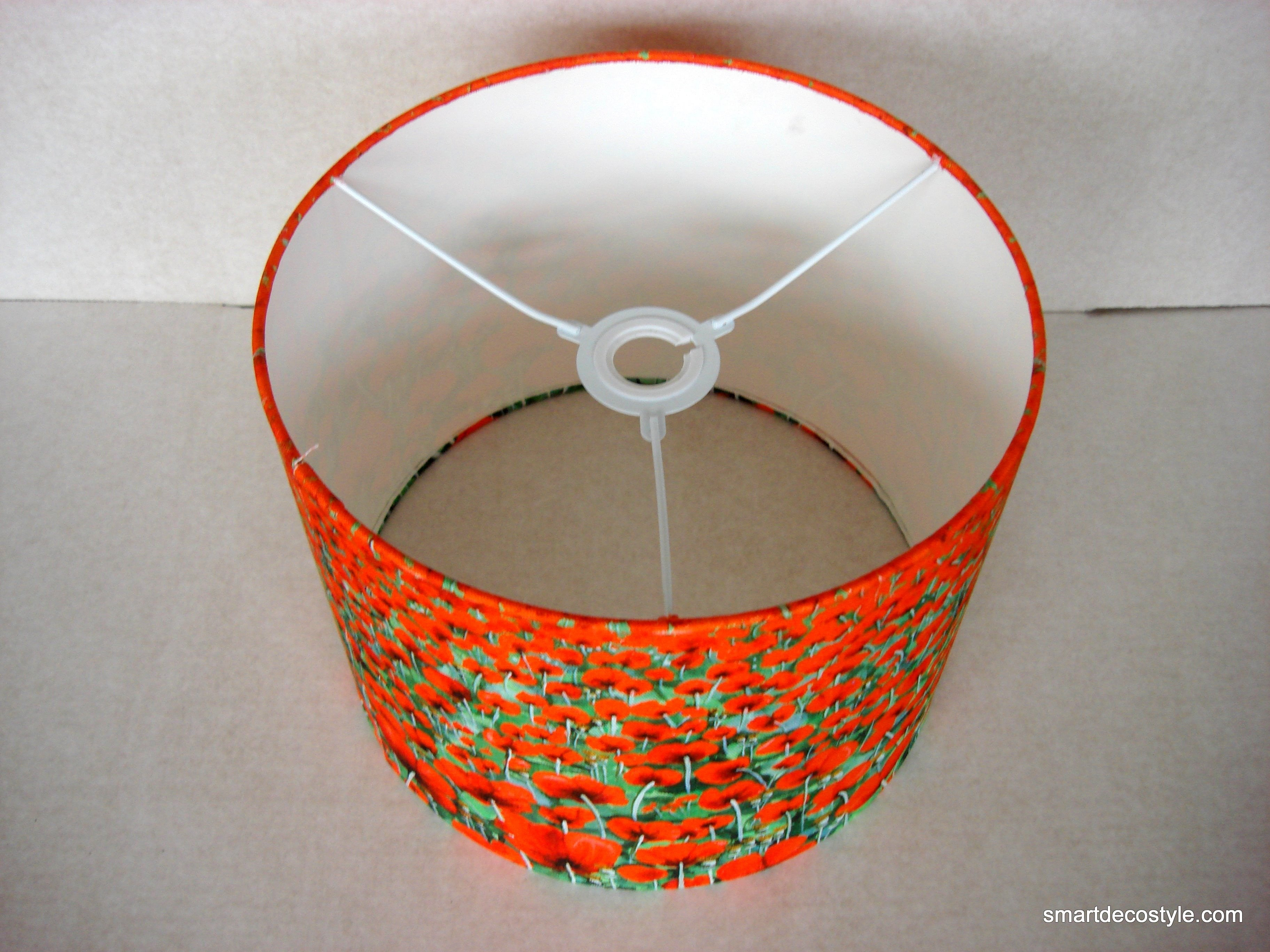 Lampshade - Blowing Poppies