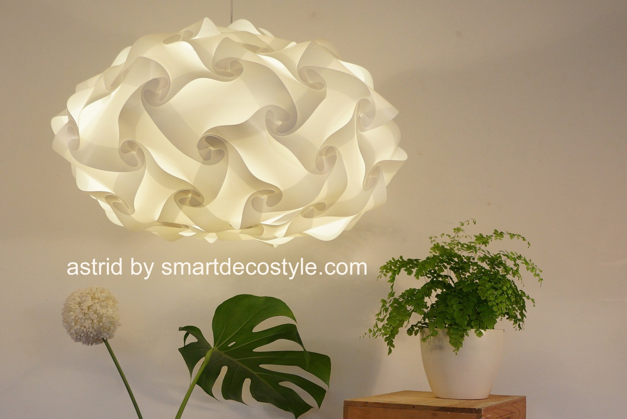 Smarty Lamps Astrid Light Shade  Smart Deco Homeware Lighting and Art by Jacqueline hammond