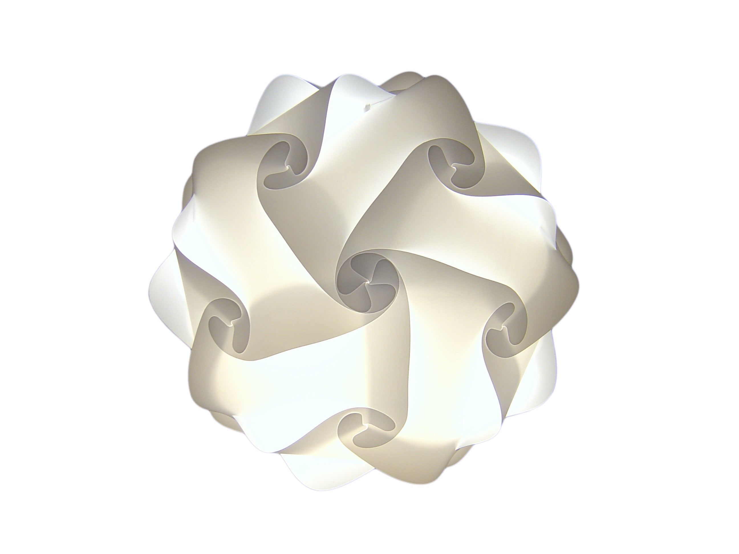 Smartylamps - OLAF - White Ceiling Pendant Lampshade  Smart Deco Homeware Lighting and Art by Jacqueline hammond