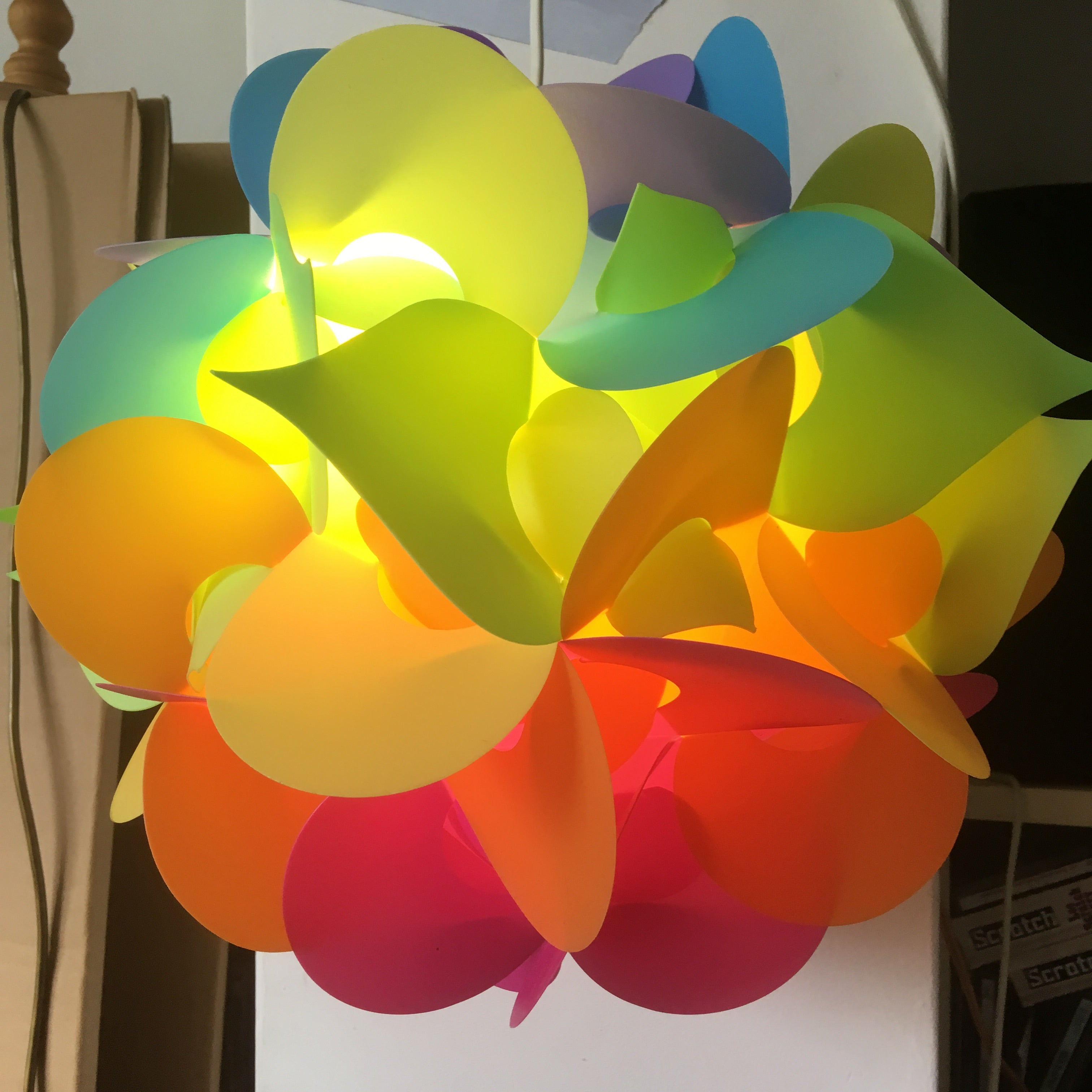 Rainbow Lamp by Smarty Lamps  Smart Deco Homeware Lighting and Art by Jacqueline hammond