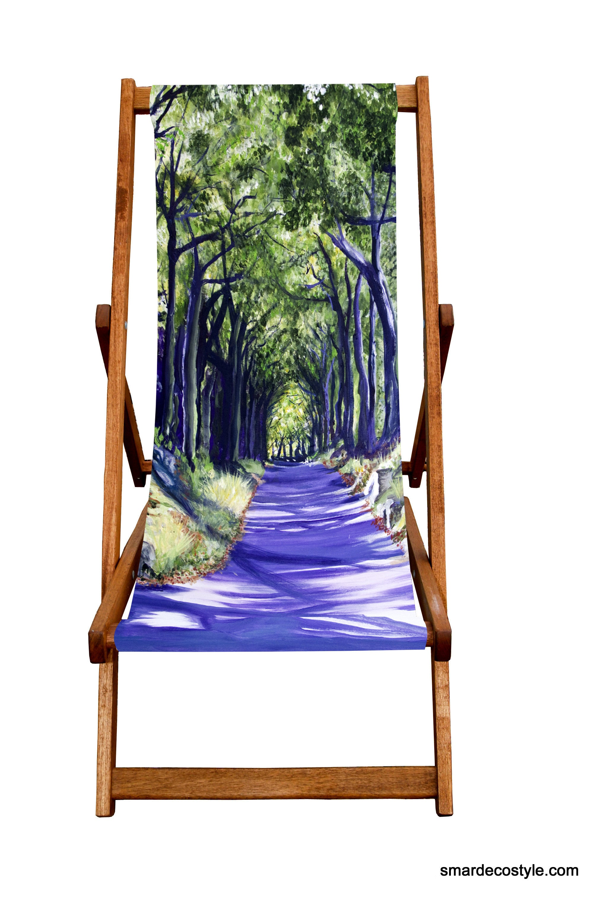 Deckchair - Traditional Seaside  - Country Lane  Smart Deco Homeware Lighting and Art by Jacqueline hammond
