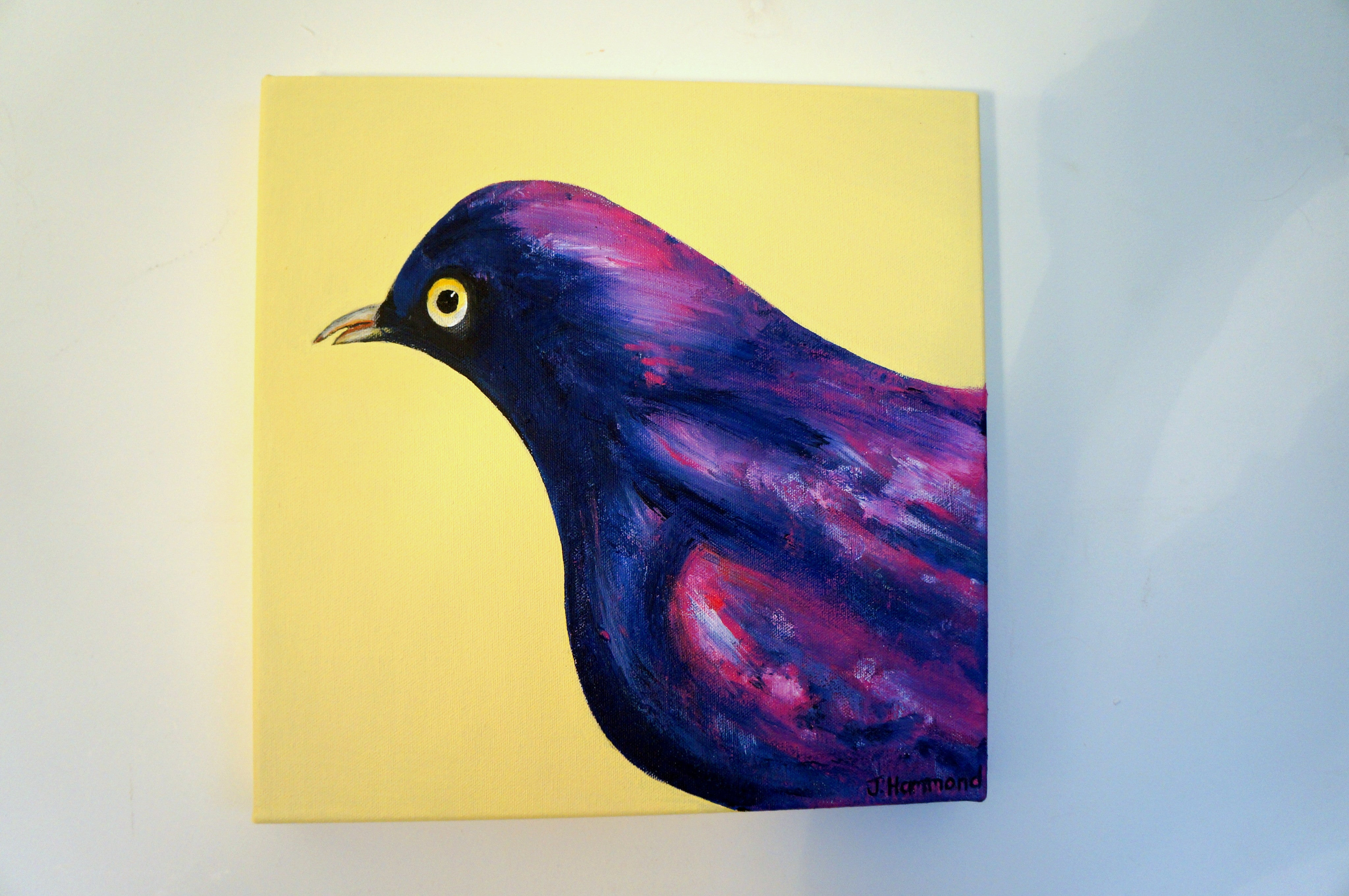 Pretty Little Thing - Bird Portrait Painting