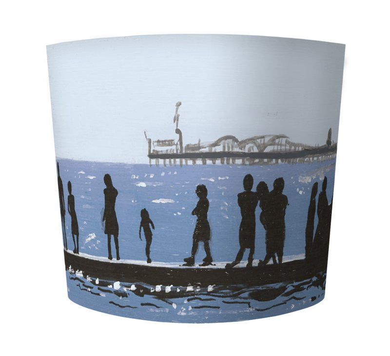 Lamp Shade - Seaside  Smart Deco Homeware Lighting and Art by Jacqueline hammond