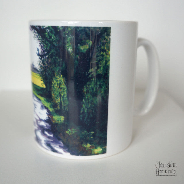 Ceramic Mug - Pretty French Lane  Smart Deco Homeware Lighting and Art by Jacqueline hammond
