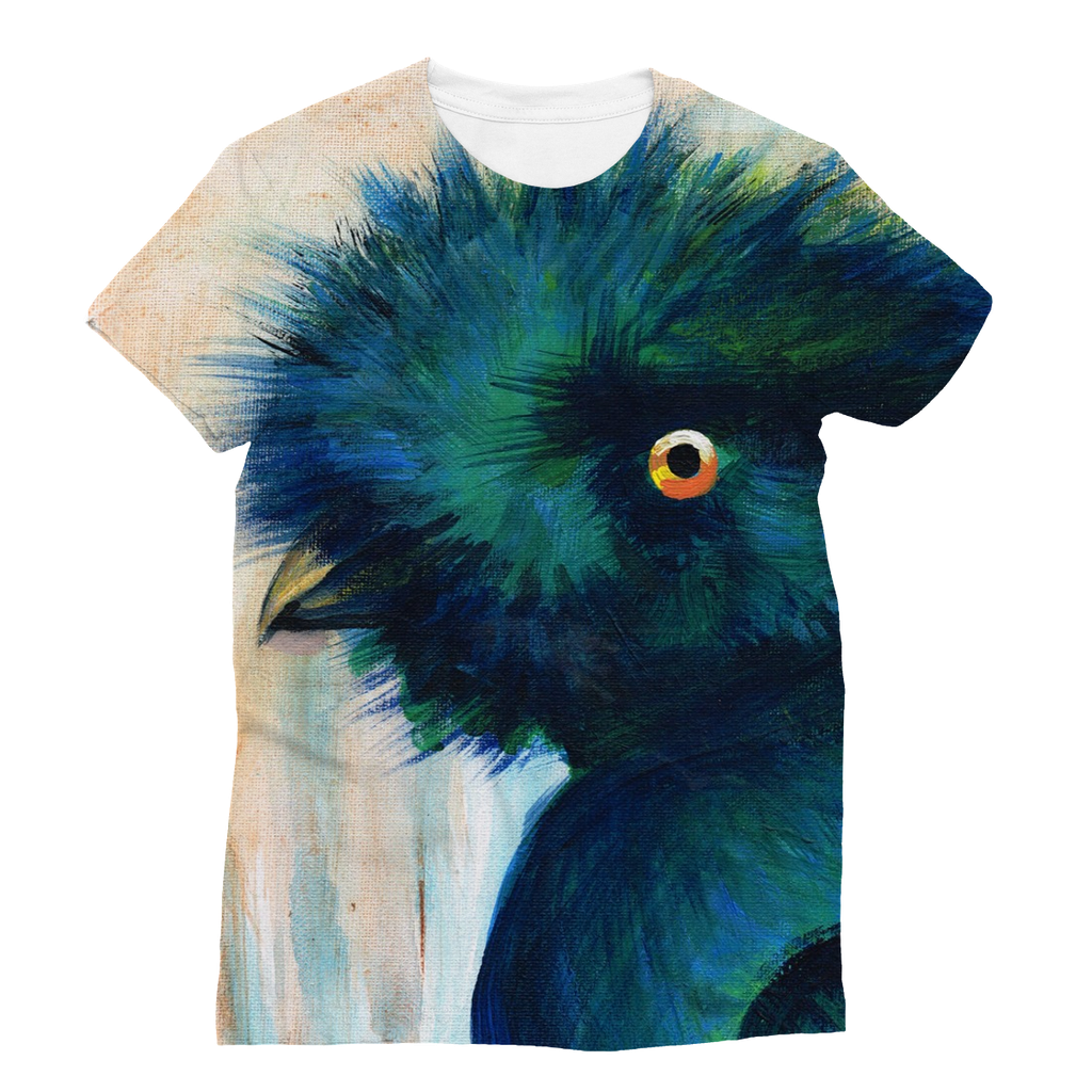Bad Hair Day Adults T-Shirt  Smart Deco Homeware Lighting and Art by Jacqueline hammond