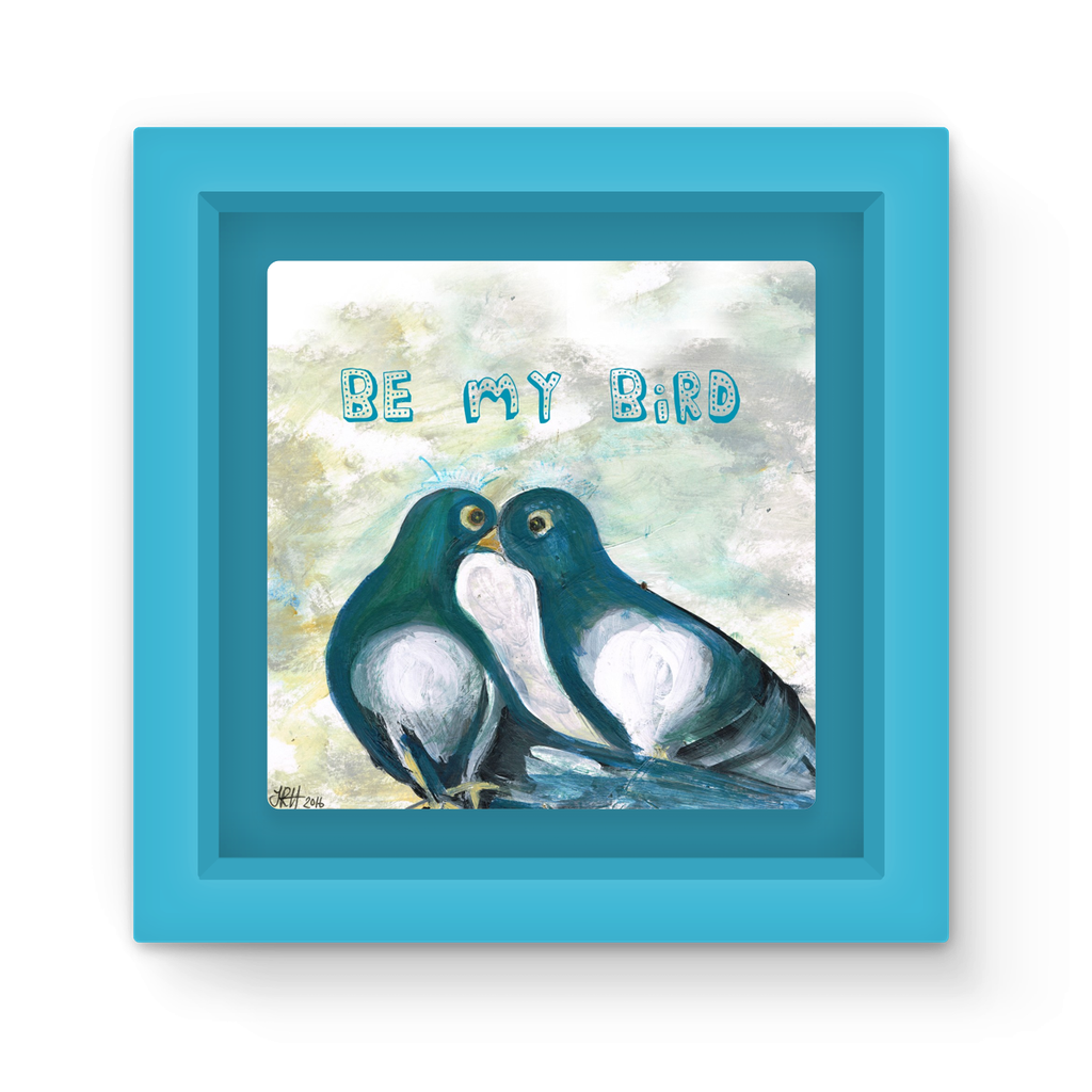 Love Pigeons Magnet Frame  Smart Deco Homeware Lighting and Art by Jacqueline hammond