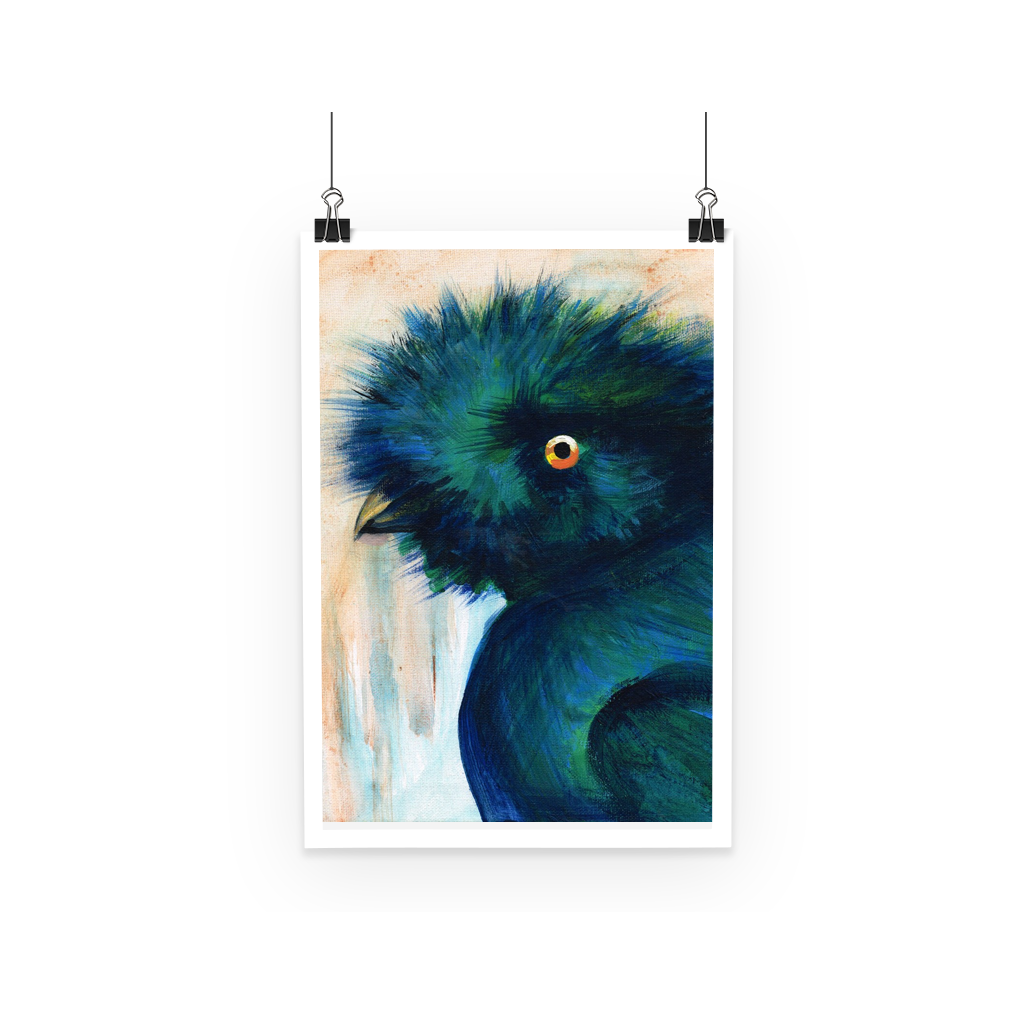 Bad Hair Day Poster  Smart Deco Homeware Lighting and Art by Jacqueline hammond