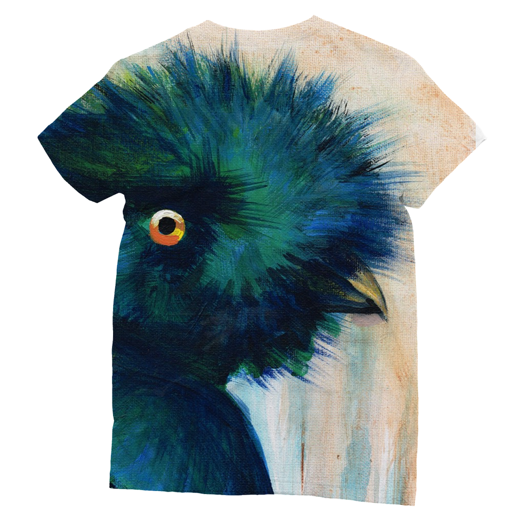 Bad Hair Day Sublimation T-Shirt  Smart Deco Homeware Lighting and Art by Jacqueline hammond