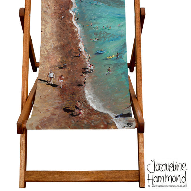 Deckchair - Traditional Seaside - Life's a Beach  Smart Deco Homeware Lighting and Art by Jacqueline hammond