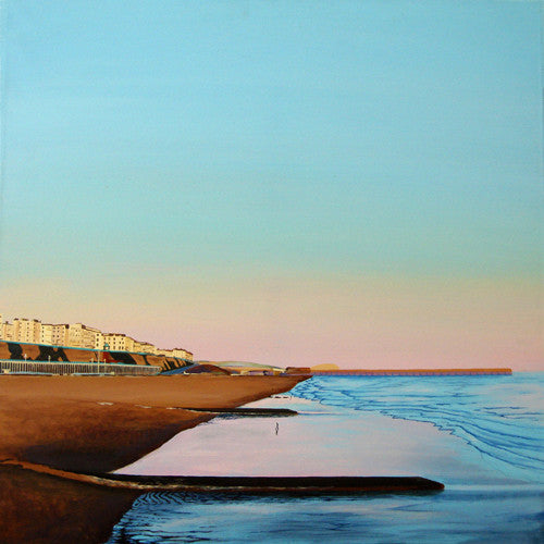 Painting - Kemptown Light - Brighton Sunsets  Smart Deco Homeware Lighting and Art by Jacqueline hammond
